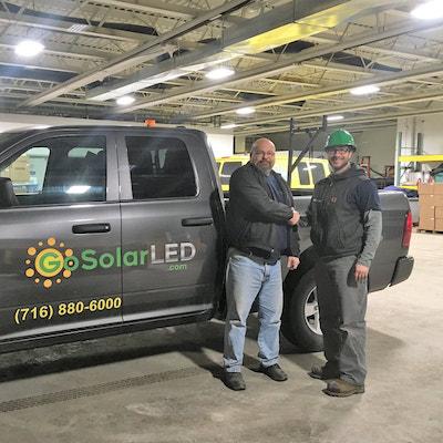 LED Lighting Truck
