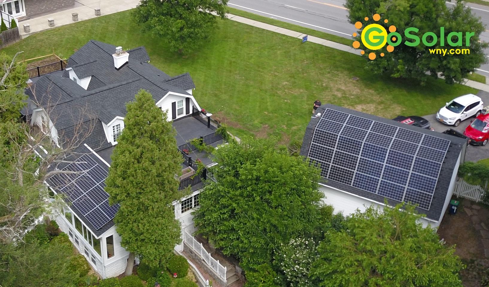 Solar Panels on Barn Amherst, NY