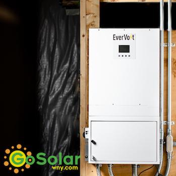 Evervolt Battery Installation