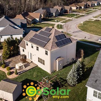 Go Solar Battery Roof Installation